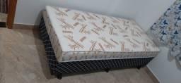 direto da fabrica cama box solteiro com 07 cm de espuma e entrega gratis