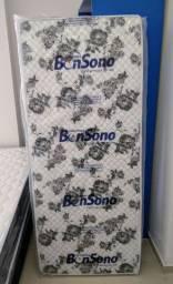 Colchão Solteiro BonSono D20 em Promoção! Aceitamos Cartões! Entrega Imediata!