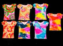 Blusas Tay Day (Coloridas) Infantis Menina, Novas