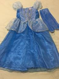 Fantasia Disney Cinderela Tamanho 8