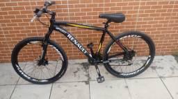 Bicicleta de alumino com amortecedor