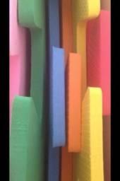 6placas Eva novas 20mm coloridas