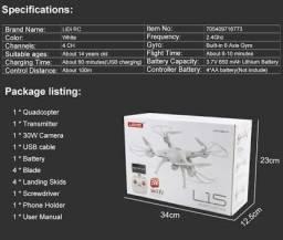 Vendo Drone Lidirc L15, Filma e tira foto ao vivo