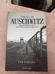 Livro Auschwitz seminovo