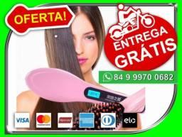 Escova Elétrica Alisadora Fast Hair Hqt-906 Bivolt -Entregamos-grátis