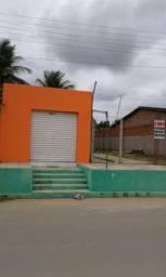 Terreno com casa em construção e ponto comercial pronto em Rio Largo