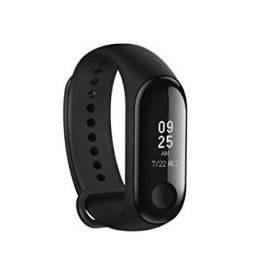 Miband 3 - A Prova d'agua( bracelete com relógio, marcador de passos/calorias e km