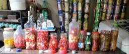 Conservas variadas de pimenta