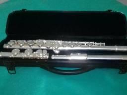 . Atênção !Flauta transversal de prata