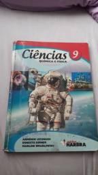 Livro didático de Ciências Química e Física volume 9