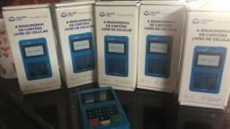 Máquina cartão de crédito sem mensalidade não precisa de celular