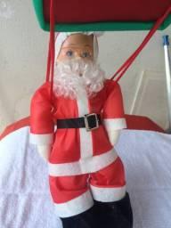 Papai Noel de paraquedas