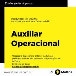 Vaga Auxiliar Operacional