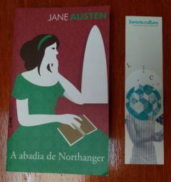 Livro A Abadia de Northanger - Jane Austen + Marca-Páginas