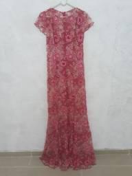 Vendo vestido sereia de renda