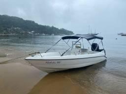 Lancha motor boat 17 pés ano 2008