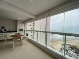 Apartamento na Praia Grande com 2 dormitórios frente para o mar a Guilhermina