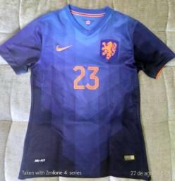 Camisa (modelo jogador) Holanda - Away - Van der Vaart #23