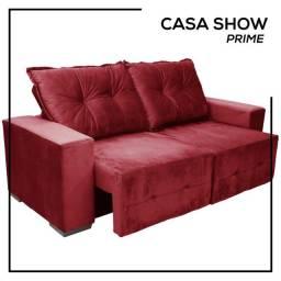 Sofá Retrátil e Reclinável em várias cores.