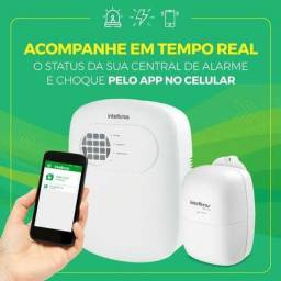 Título do anúncio: Central de alarme Intelbras com aplicativo