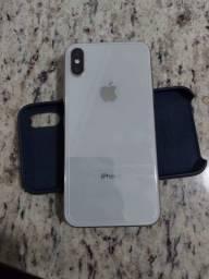 iPhone X 64gb, caixa, carregador, manuais e chave do chip