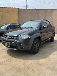 Título do anúncio: Fiat Strada Adventure Locker 1.8 - Flex - Cabine Dupla - 3 Portas - 2014