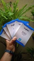 SSD Kingfast 120gb Novo/Lacrado Entrego/Passo cartão