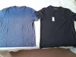 Camisas reserva e acostamento manga curta