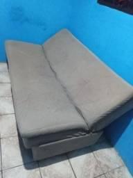 Vendo ou troco sofá cama usado mas conservado
