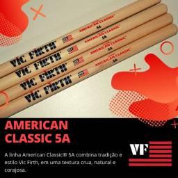 Baqueta Vic Firth  5A Americam Classic