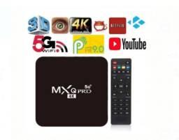 tv box mxq pro 4k 5g - 8gb/128gb novos