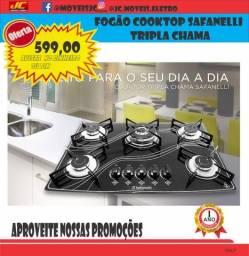 Título do anúncio: Fogão Cooktop Safanelli Tripla Chama Super Oferta