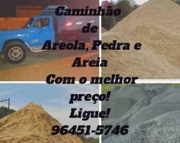 Areia, Pedra, Areola