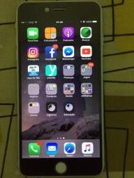 Título do anúncio: IPhone 6 Plus 64gb Prateado - Para Vender Logo