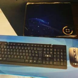 Teclado+mouse+mouse pad - ENTREGAMOS