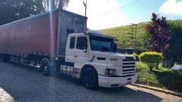 Scania faixa cinza