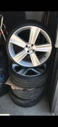Rodas 20 rodas e pneus zero! Barato!