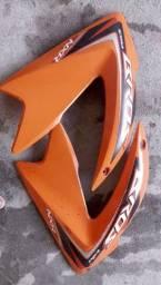 Carenagem Bros laranja 125/150 2011 a 2014