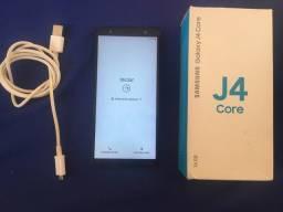 Samsung j4 core em perfeito estado