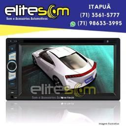 Central Multimídia Mp5 Tv Digital Espelhamento Usb Dvd Bluetooth instalada na Elite Som
