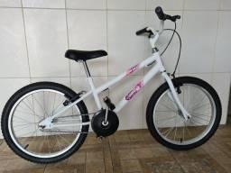 Bicicleta aro 20 nova menina