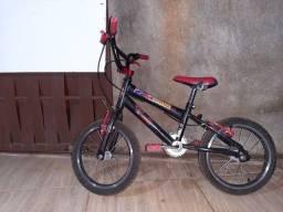 Bicicleta de criança homem aranha para vender logo