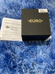Relógio Euro feminino rose digital lacrado