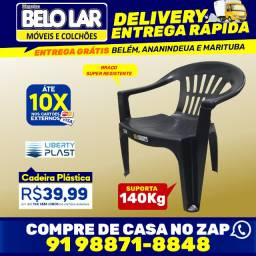 Cadeira Plástica, Compre no zap *