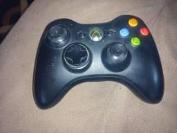 Controle Xbox 360 original Microsoft (usado sem defeito )