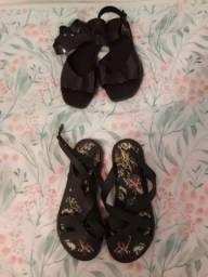 Sandálias de salto sandálias baixas