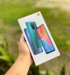 Redmi Note 9 lacrado - Aceito cartão e troca
