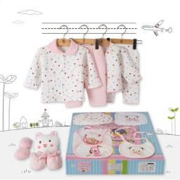 Roupas para bebê puro algodão conjuntos de roupas de bebê Kit 18 Pcs