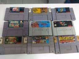Título do anúncio: Vídeo game Super Nintendo