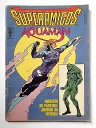 Superamigos n.33 (Monstro do Pântano - fase Alan Moore)     [DC   HQ Gibi Quadrinhos]